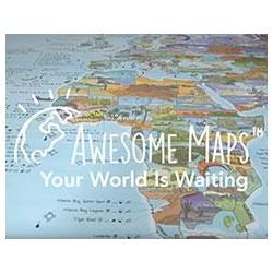 AWESOME MAPS KITE / WIND TRIP